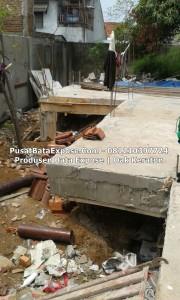 Proyek Bata Keraton / Dak Keraton....sdh di kasih cor 2-3 cm, Pulau Gebang JAKARTA.