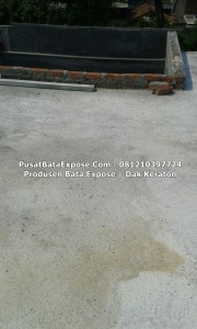 Proyek Bata Keraton / Dak Keraton Lantai 3...tidak pakai Genteng, Lebih Hemat Biaya...Pulau Gebang JAKARTA.